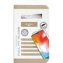 Panzer Tempered Glass til OnePlus 6T - Full-fit Sort-1