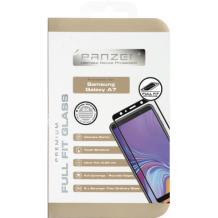 Panzer Tempered Glass til Samsung Galaxy A7 (2018) - Full-fit Sort-1