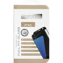 Panzer Tempered Glass til Samsung Galaxy S7 Edge - Full-fit Gennemsigtig, Sort-1