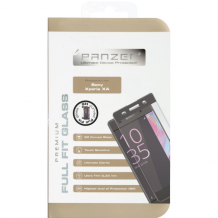 Panzer Tempered Glass til Sony Xperia XA - Full-fit Gennemsigtig, Sort-1
