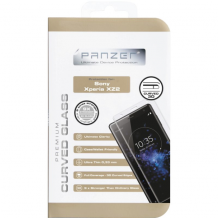 Panzer Tempered Glass til Sony Xperia XZ2 - Full-fit Gennemsigtig-1