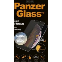 PanzerGlass Apple iPhone X/XS Casefriendly Privacy CamSlider Black-1