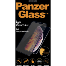 PanzerGlass Apple iPhone XS MAX Casefriendly Privacy,Black-1