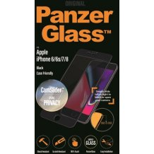 PanzerGlass iPhone 6/6s/7/8 CaseFriendly Privacy CamSlider Black-1