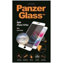 PanzerGlass iPhone 6/6s/7/8 Plus CaseFriendly Privacy CamSlider White-1