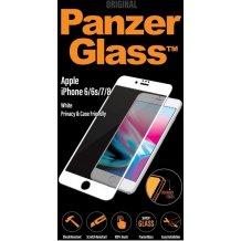 PanzerGlass iPhone 6/6s/7/8 White Privacy-1