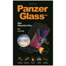 PanzerGlass iPhone 6S Plus / 7 Plus / 8 Plus CaseFriendly Privacy CamSlider Black-1