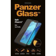 PanzerGlass Premium til Apple iPhone XS Max - Full-Fit Casefriendly Sort