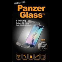 PanzerGlass  med buet ramme til Samsung Galaxy S6 Edge, Glossy-1