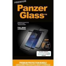 PanzerGlass PREMIUM Samsung S8 Black w. black EdgeGrip cover-1