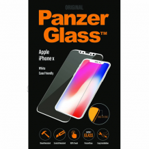 PanzerGlass Premium til Apple iPhone X/XS - Full-Fit Casefriendly Hvid-1