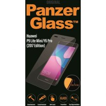 PanzerGlass Premium til Huawei P9 Lite Mini/Y6 Pro - Full-Fit Casefriendly Gennemsigtig, Sort-1