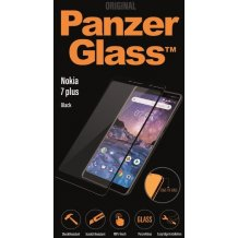 PanzerGlass Premium til Nokia 7+ - Full-Fit Sort-1