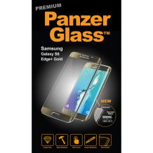PanzerGlass Premium til Samsung Galaxy S6 Edge/Edge+ - Full-Fit Gennemsigtig, Guld-1