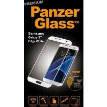 PanzerGlass Premium til Samsung Galaxy S7 Edge - Full-Fit Gennemsigtig, Hvid-1