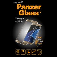 PanzerGlass Premium til Samsung Galaxy S7 Edge - Full-fit Guld-1