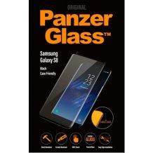 PanzerGlass Premium til Samsung Galaxy S8 - Full-Fit Casefriendly Sort-1