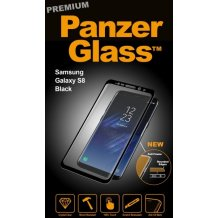 PanzerGlass Premium til Samsung Galaxy S8 - Full-Fit Gennemsigtig-1