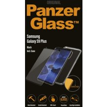 PanzerGlass Samsung S9+ Black, CaseFriendly w. Clear EdgeGrip case-1