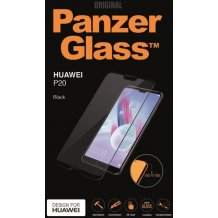 PanzerGlass Til Huawei P20, Sort. Dækker hele skærmen-1