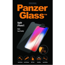 PanzerGlass til iPhone X, Cover kompatibel, sort-1