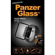 PanzerGlass til Apple Watch 42mm med Sort Ramme