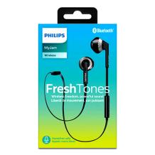 Philips - SHB5250BK - MyJam FreshTones Bluetooth Headset - Black-1