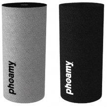 Phoamy 2 pack til Apple EarPods og Huawei headsets, Grå og Sort
