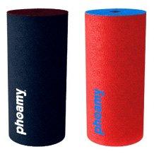 Phoamy 2 pack til Apple EarPods og Huawei headsets, Blå og Rød
