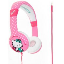Hello Kitty Hovedtelefon On-Ear Junior Rosa til børn 3 - 7 år