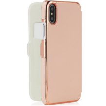 Pipetto Slim Wallet Classic for iPhone XR, Rose Gold-1