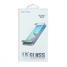 Premium - Samsung N950F Galaxy Note 8 - 4D Tempered Glass Screen Guard - Black-1