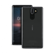 Puro 0.3 Nude Cover til Nokia 8 Sirocco - Gennemsigtig-1