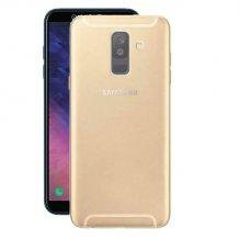 Puro 0.3 Nude Cover til Samsung Galaxy A6+ (2018) - Gennemsigtig-1