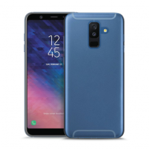 Puro 0.3 Nude Cover til Samsung Galaxy A6 (2018) - Gennemsigtig-1