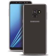 Puro 0.3 Nude Cover til Samsung Galaxy A8 (2018) - Gennemsigtig-1