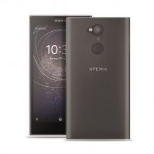 Puro 0.3 Nude Cover til Sony Xperia L2 - Gennemsigtig-1