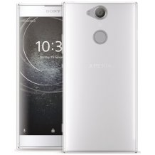 Puro 0.3 Nude Cover til Sony Xperia XA2 - Gennemsigtig-1