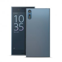 Puro 0.3 Nude Cover til Sony Xperia XZs - Gennemsigtig-1