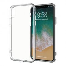Puro Clear Cover til Apple iPhone XS Max - Gennemsigtig-1