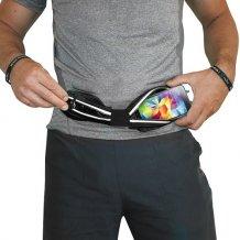 """Bælte til smartphones, Puro Double Pouch til 6.3"""" telefoner, Sort"""