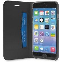 Puro iPhone 6 / 6S Flipcover med Dankortlomme Sort