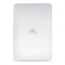 Puro Mini iPad Booklet Cover with Stand up White-1