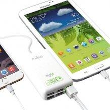 Puro Multi-USB ladestation til 6 telefoner / tablets, Fast Charger