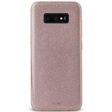 Puro Shine cover Til Samsung Galaxy S10, Rosa guld-1
