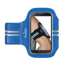 """Puro Sport Universal Armbånd til smartphones op til 5.1"""" - Blå-1"""
