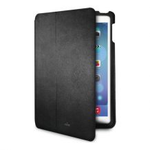 Puro Ultra Slim Cover iPad Air Folio w/Magnet Stand-Up Black-1