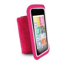 "Puro Universal Running Wristbands til telefoner op til 4.3"" Pink-1"