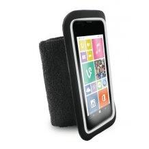 "Puro Universal Running Wristbands til telefoner op til 5.1"" Sort-1"