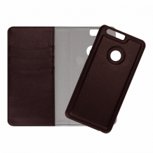 Redneck Duo Wallet Folio 2-i-1 Cover til Huawei Honor 8 Lite/P9 Lite 2017 - Brun-1